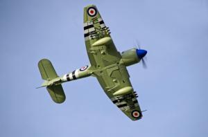 Avios Hawker Sea Fury Warbird EPO 1200mm PNP