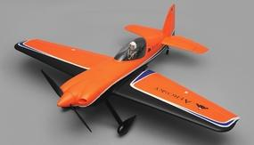 "AeroSky Sbach 342 Aerobatic RC Plane 55"" 4 Channel PNP Orange 1400mm"