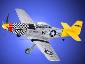Art-Tech P-51 Mustang RTF 2.4ghz 4 Channel EPO WWII Fighter