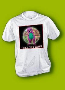 Barney T-Shirt, creative, killerplanes, killer planes