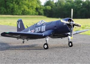 Durafly F4U Corsair 1100mm/5 Channel EPO Warbird/Electric retracts/2.4GHz RTF or