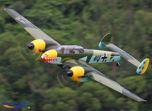 Durafly Bf110 or Me110 1200mm - Retracts - Gear Doors - Lights - PNP