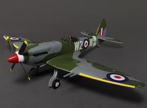 Durafly Supermarine Spitfire Mk 24 with Retracts - Flaps - Nav Lights = PNP
