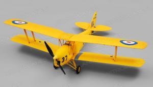 Dynam Tiger Moth RC 4 Channel Bi-plane 2.4Ghz 1270mm Wingspan PNP