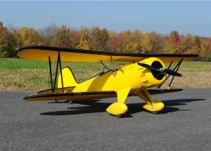 Dynam WACO (YNF-5D) 1270mm 4ch EPO RC Electric Scale Biplane- ARF or RTF