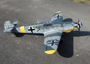 Dynam BF-109/Me-109 1270mm RC Airplane WW2 Fighter ARF or RTF