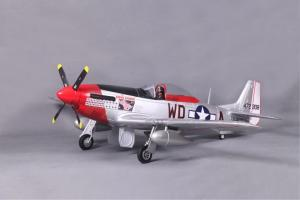 FMS P-51D Mustang V8 1400mm 5 Channel EPO Warbird/Electric Retracts/RR/PNP