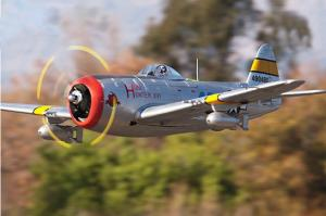 FMS P-47 1700mm SILVER or GREEN PNP