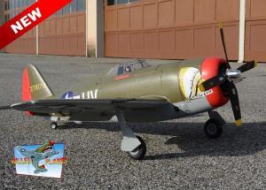 FMS 980mm P-47 Razorback High Speed Green PNP