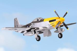 FMS 1400mm P-51 Mustang V8, 6 Channel EPO Warbird/Electric Retracts/Feroicious F