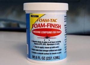BEACON ADHESIVE'S FOAM TAC FOAM FINISH (8 oz) Finishing Compound