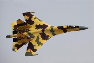 Freewing SU-35 Desert Camo Twin 70mm EDF Vectored Thrust Jet - PNP