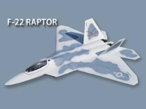 Fly Fly F-22 Raptor 1150mm Wingspan