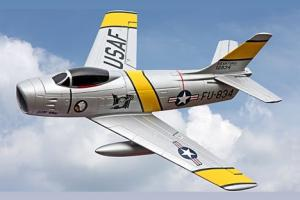Freewing F-86 Sabre Jolly Roger 64mm EDF Jet - PNP