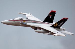 Freewing F/A-18E Hornet V2 90mm EDF Thrust Vectoring Jet - PNP