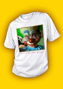 Klown T-Shirt, creative, killerplanes, killer planes