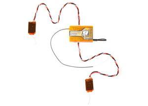 Orange Rx R910 Spektrum DSM2 - 9-Channel Receiver 2.4 Ghz TwinPort Rx with Dual