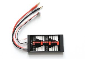 PARALLEL CHARGING BOARD FOR 6 PACKS (Deans/T Connectors)