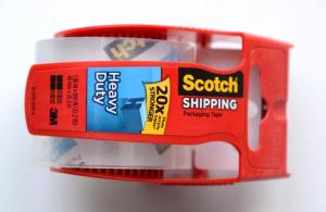 "SCOTCH HEAVY DUTY SHIPPING TAPE (48mm X 20.3m/1.88"" x 800"" -- 22.2 yds)"