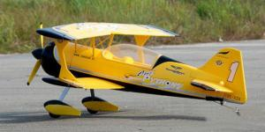 LX Pitts Python 1400mm 4ch 3D RC Biplane - ARF or RTF