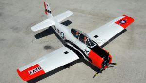 Dynam T-28 1200mm 5 Channel 2.4GHz Fighter Trainer w/Retracts, Nav Lights, Flap