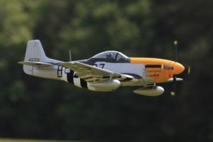FMS P-51 Mustang V7 1400mm 5 Channel EPO Warbird/Electric Retracts/FF/PNP