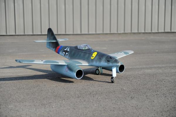 Dynam Messerschmitt Me 262 Rc 6 Channel 1500mm Twin 70mm