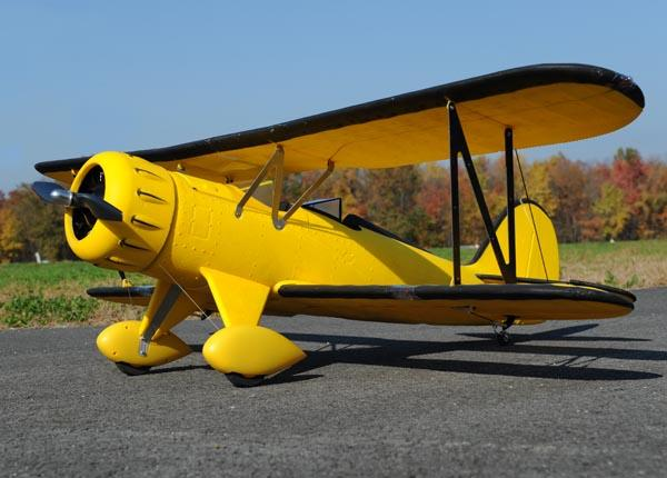 Dynam WACO (YNF-5D) 1270mm 4ch EPO RC Electric Scale Biplane