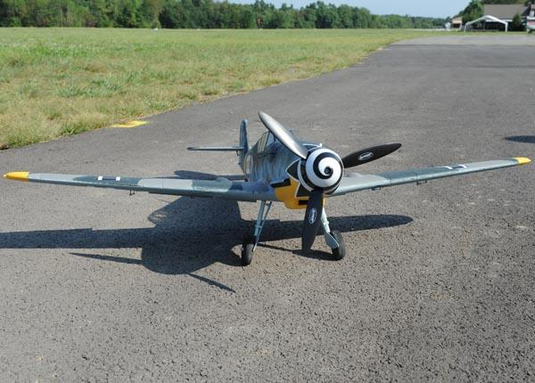 Dynam BF-109/Me-109 1270mm RC Airplane WW2 Fighter PNP