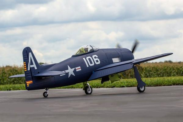 FlightLine RC Grumman F8F-1 BEARCAT 1200mm (47
