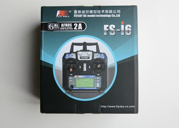 FLYSKY I6 6-Channel 2 4GHz Transmitter and IA6 Receiver