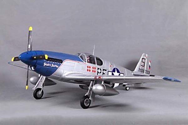 FMS 1400mm P-51B Mustang V8 - 5 Channel EPO Warbird/Electric