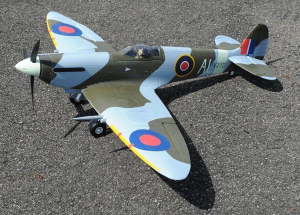FMS 1400mm Spitfire V2 - 5 Channel Warbird - Electric