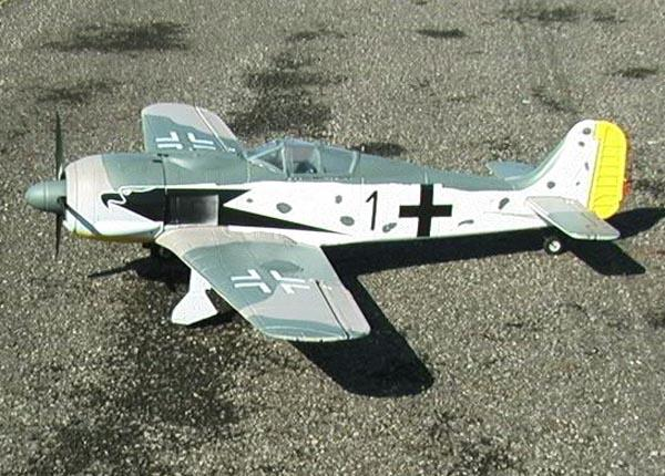 Top Rc Fw 190 Quot Butcher Bird Quot 6 Channel Rc Airplane W