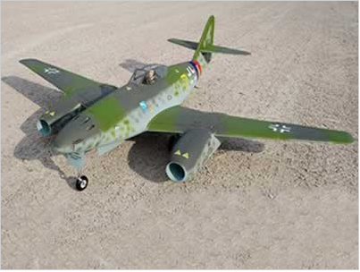 Freewing Messerschmitt Me 262 Twin 70mm Jet - PNP