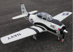 FMS T-28 TROJAN V2 1400mm 6 Channel 2.4GHz Fighter Trainer w/Electric Retracts,