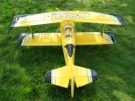 Top RC Pitts Python 1400mm 4ch 3D RC Biplane - ARF or RTF