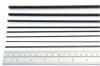 """CARBON FIBER: 4mm x 24"""" Carbon Fiber Tube (4mm outer diameter, 2mm inner diamete"""